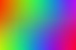 canvas print picture - An abstract rainbow colored background image.
