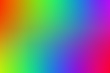 An Abstract Rainbow Colored Ba...