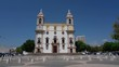 Plaza de Carmo in the center of the Portuguese city of Faro.