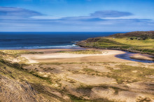 Bettyhill Beach, The Estuary Of The River Naver, And Torrisdale Bay
