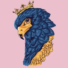Eagle King Vector (Ai, EPS, JP...