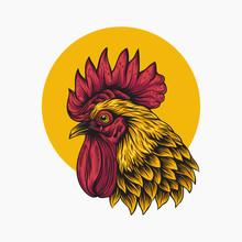 Rooster Vector Illustration Logo