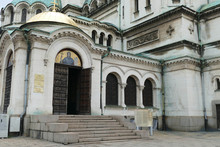 Side Entrance To Alexander Nevsky Cathedral