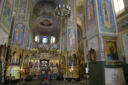 Iconostasis separates nave from apse in Shipchenski monastery Wallpaper Mural