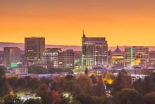 Boise, Idaho, USA Downtown Cityscape