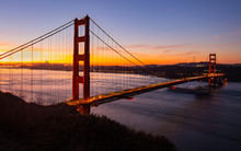 Golden Gate Bridge In San Fran...
