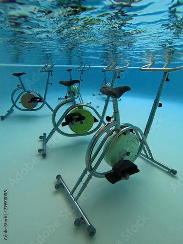 Matériel pour pratiquer l'aquabiking Tapéta, Fotótapéta