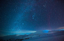Stunning Starry Sky In A Blue ...