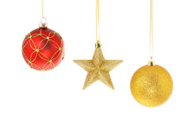Star And Baubles