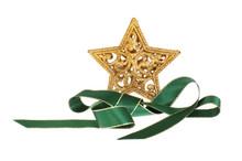 Star And Ribbon Motif