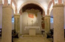 Crypt Of The Duomo Of Spilimbergo