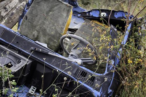 Fototapety, obrazy: Car accident
