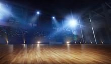3-D Arena For Ballroom Dancing...