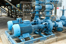 Blue Color Centrifugal Pump