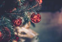 Christmas Decorations; Xmas Decoration; Vintage Style