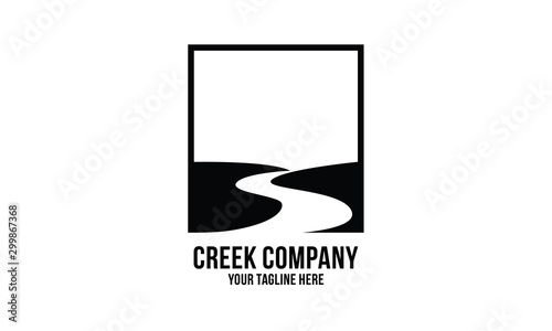 Fotografia creek logo design inspirations