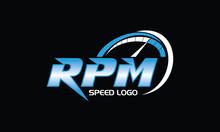 Speed RPM Logo Design Inspirations