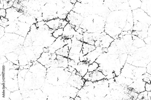 Grunge background of black and white texture.
