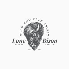 Bison Label Template