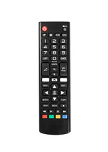 TV Remote Control Isolated On ...
