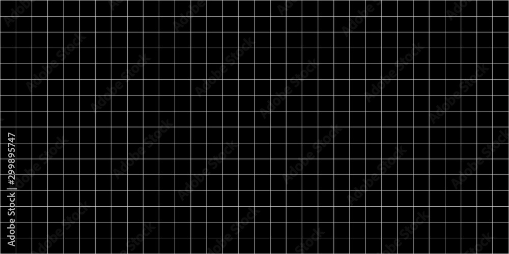 Fototapety, obrazy: grid square graph line full page on black paper background, paper grid square graph line texture of note book blank, grid line on paper black color, empty squared grid graph for architecture design