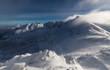 canvas print picture - WInter landscape of Tatra Mountains in Poland Zakopane snow ski season