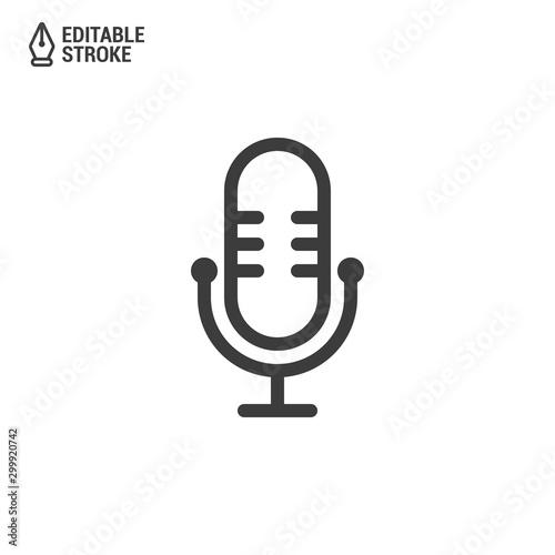 Fotografie, Obraz Podcast icon or logo design