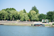 Riverbank Of The River Tisa Nearby Zrenjanin