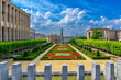 canvas print picture - The Mont des Arts or Kunstberg is an urban complex and historic site in the centre of Brussels, Belgium. Architecture and landmarks of Brussels.