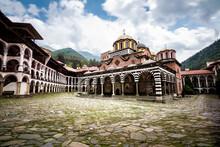 Rila Monastery, One Of The Main Tourist Destinations And UNESCO Site In Bulgaria