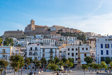 Ibiza Old Town View From The Port