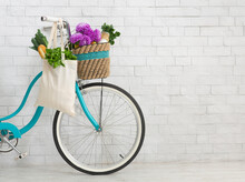 Bicycle With Wildflowers And O...