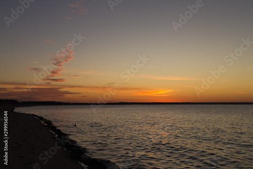Sunrise on the Cape Cod Bay, Provincetown, Cape Cod, Massachusetts