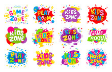 Kids Zone Emblem Colorful Cart...
