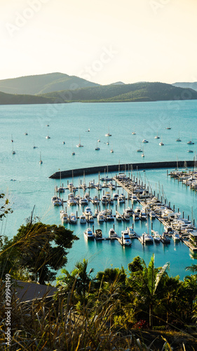 Photo marina airlie beach