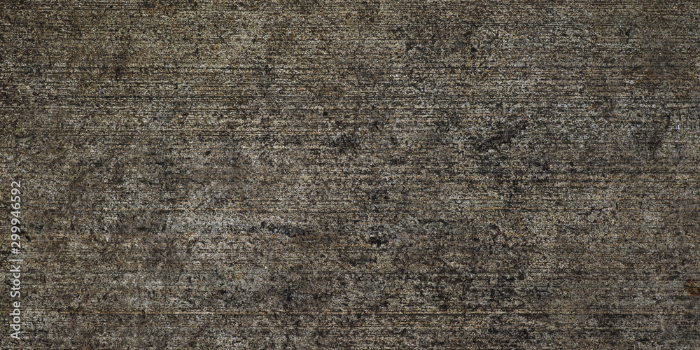 Fototapety, obrazy: Dark background. Old dark cement or concrete wall texture for paper background.