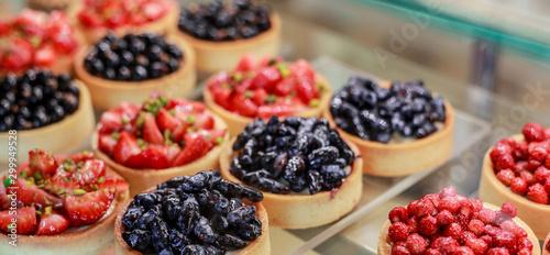 Fotografie, Obraz  fresh  berries tart