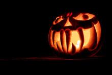 Jack O' Lantern In The Dark.