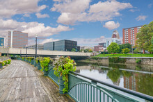 City Skyline Of Lansing, Michi...