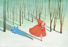 Little Red Riding Hood Cape An...
