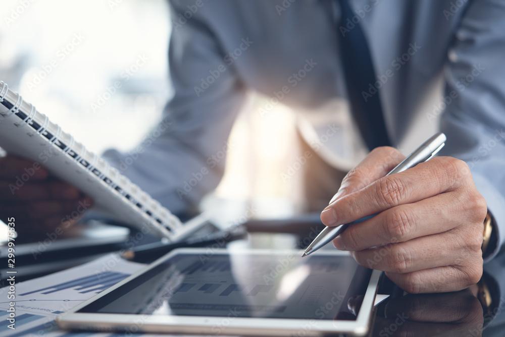 Fototapety, obrazy: Business analysis