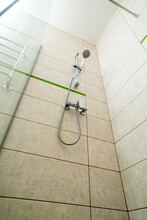 Wall Mounted Shower And Faucet...