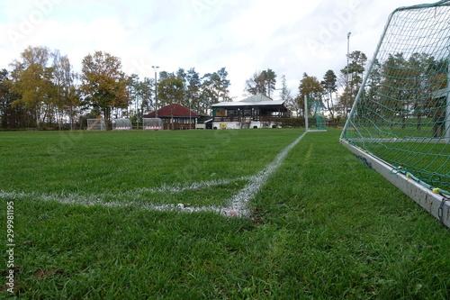 Foto op Canvas Kanaal Fußballheim/Sportheim 86653 Monheim