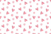 Repeat Pattern Of Pink And Lig...