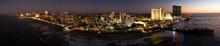 Drone View On The Atlantic City Skyline