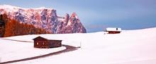 Amazing Winter Landscape At Su...