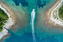 Vertical Aerial Image Of Motor...