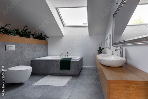 Fotografía Modern interior design - bathroom