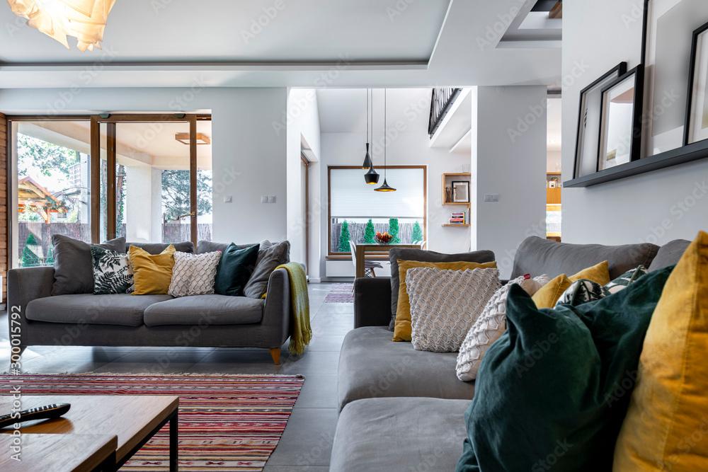Fototapety, obrazy: Modern interior design - livingroom