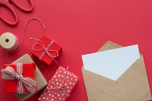 Christmas Gifts And Envelope F...